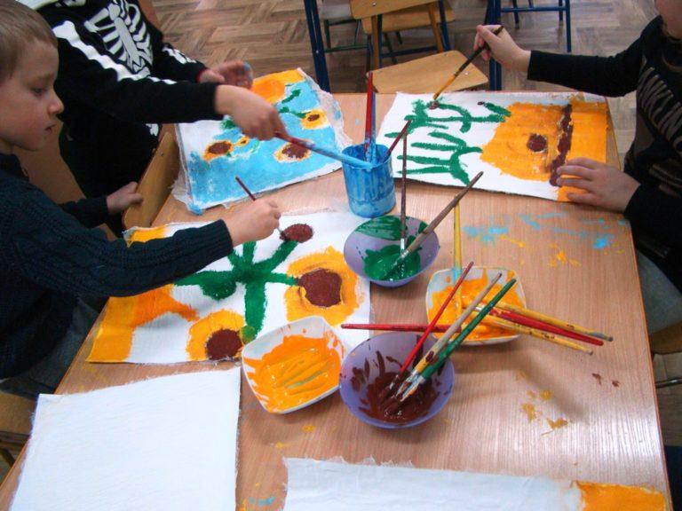 Twórcze malowanie